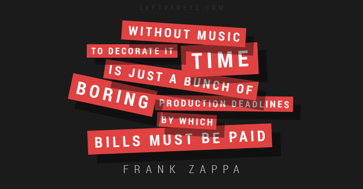 Frank Zappa Music Quote