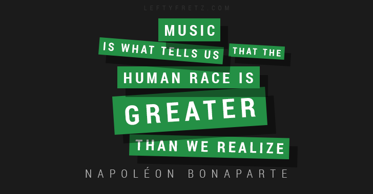 Napoleon Bonaparte Music Quote