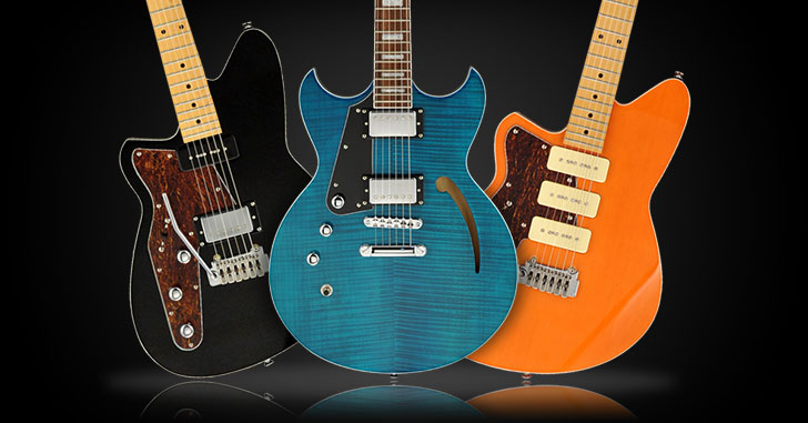 Left Handed Reverend Guitars 2015