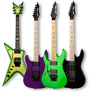 Special Run Left Handed Dean Guitars