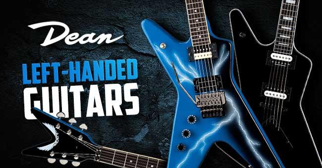 Dean Left Handed Guitars