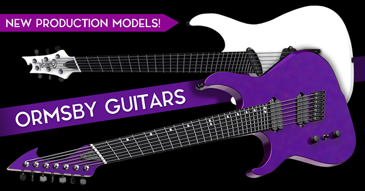 Left Handed Ormsby GTR Series Guitars