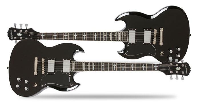 Epiphone Tony Iommi SG Custom Left Handed Guitar