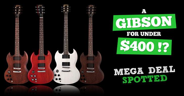 A Lefty Gibson SGJ For $399? Killer Deal Alert!