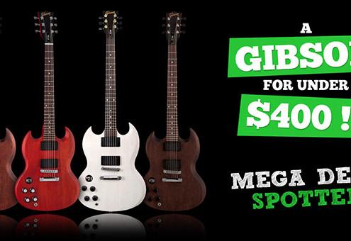 Left Handed Gibson SGJ Deal