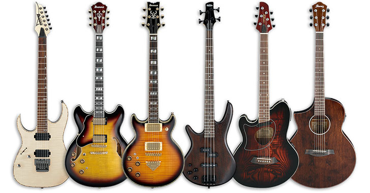 Ibanez Limited Edition Left Handed Guitars 2015