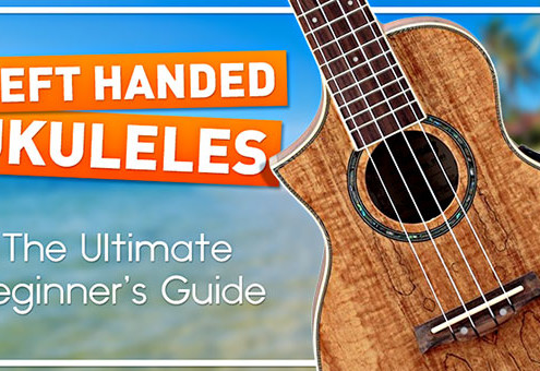 Beginner Left Handed Ukulele Guide