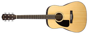 Fender CD100L Left Handed Acoustic Guitar Review