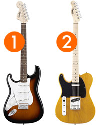 best left handed electric guitars for beginner players. Black Bedroom Furniture Sets. Home Design Ideas