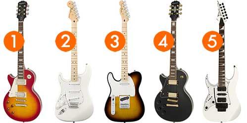 best left handed electric guitars for beginner players. Black Bedroom Furniture Sets. Home Design Ideas