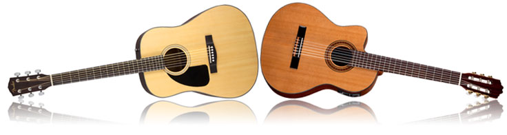 Dreadnought vs Classical Guitar