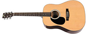 Rogue RG624 Left Handed Acoustic Guitar Review
