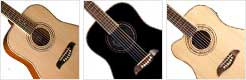 Oscar Schmidt OG1 Left Handed Guitars