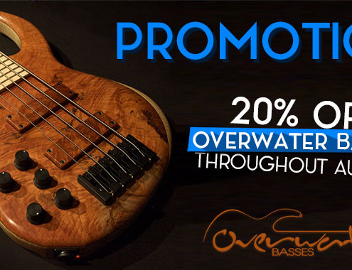 Overwater Left Handed Bass Promotion
