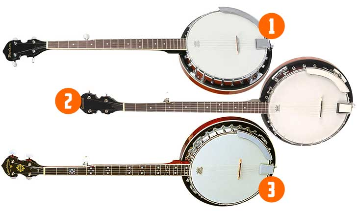 Beginner Left Handed Banjo