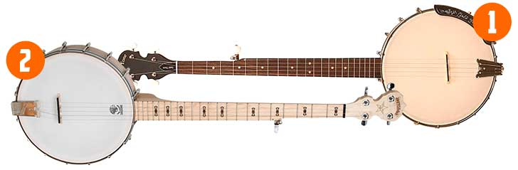 Budget Left Handed Banjo