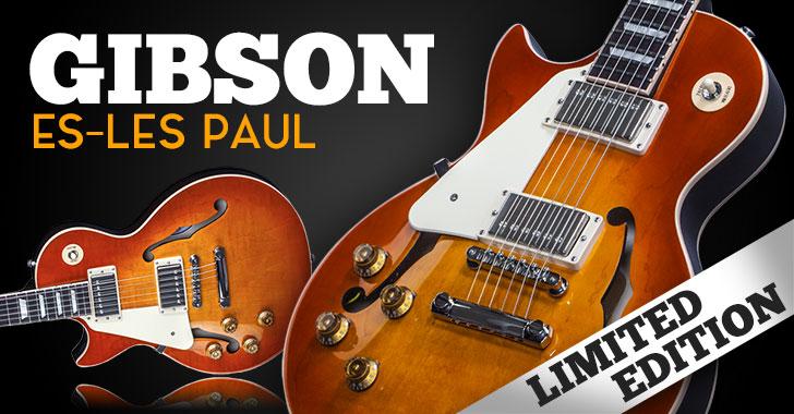 Gibson Left Handed Memphis ES-Les Paul Limited Edition