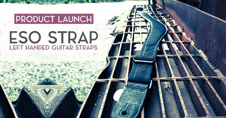 ESO Strap Left Handed Guitar Strap