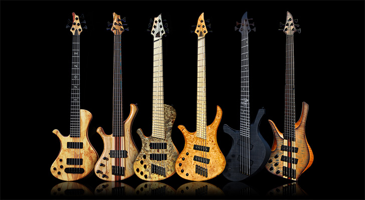 Skervesen Left Handed Bass Guitars