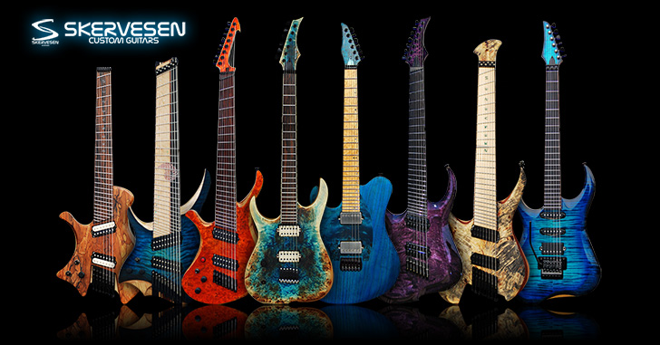 Left Handed Skervesen Guitars
