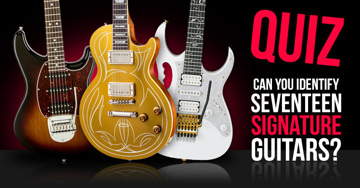Signature Guitar Model Quiz