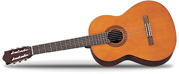 GuitarWorks Left Handed Classical Guitar Package