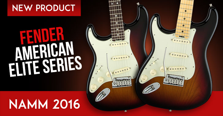 Left Handed Fender American Elite Series