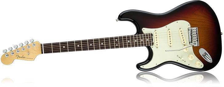 Left Handed Fender American Elite Series Strat Rosewood