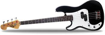 Oscar Schmidt OB25L Left Handed Bass Guitar