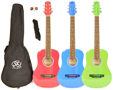 SX RSM Left Handed Kids Acoustic Guitar