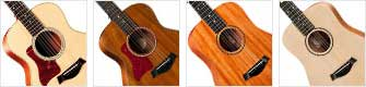 Taylor Left Handed acoustic Guitars Small