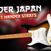 Left Handed Fender Japan Guitars