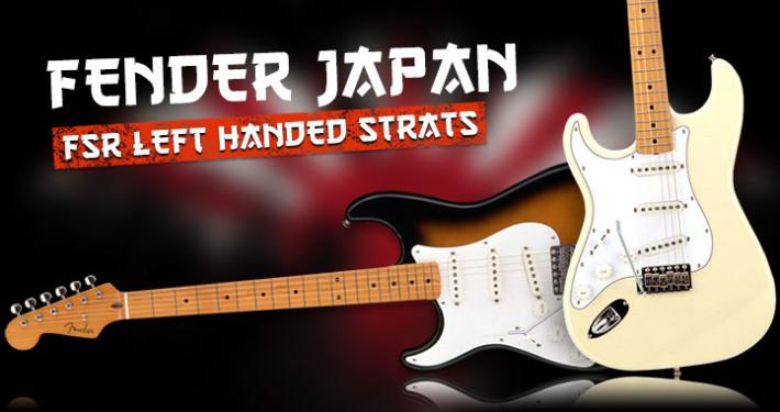 Left Handed Fender Japan Guitars