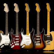 Squier Left Handed Guitars 2016