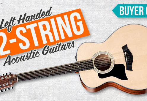 Best Left Handed 12 String Acoustic Guitar