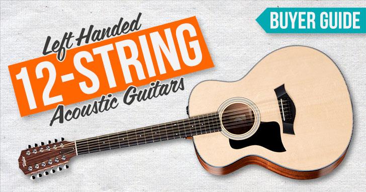 Left Handed 12 String Guitar
