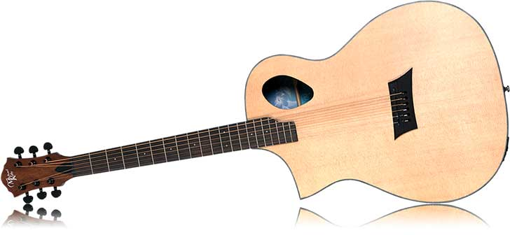 Left Handed Michael Kelly Forte Port Acoustic