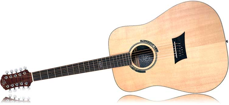 Left Handed Michael Kelly Triad 10E Acoustic