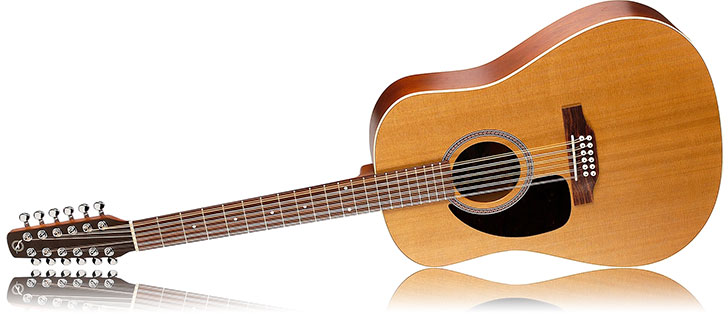Left Handed Seagull S12 12 String Acoustic Guitar Review