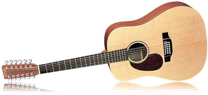 Martin D12X1AEL LEft Handed12 String Acoustic Guitar