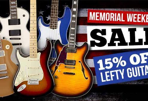 Memorial Day Amazon Guitar Sale
