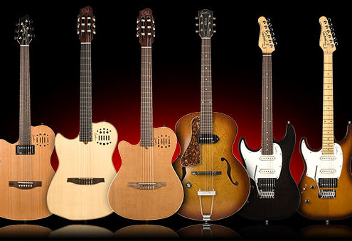 Godin Left Handed Guitars