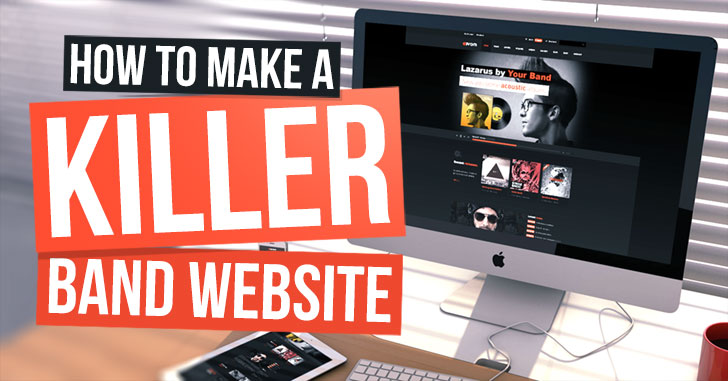 How To Make a Band Website