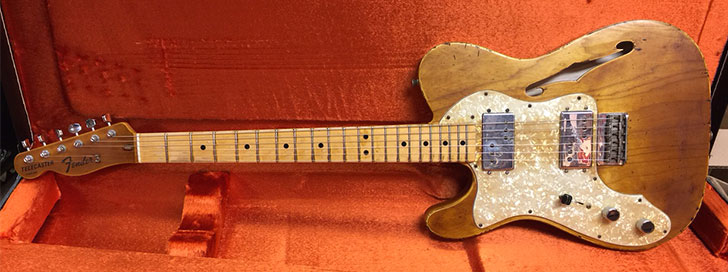 Lefty Fender Custom Shop Telecaster Relic