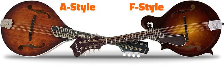 A-Style or F-Style Mandolin