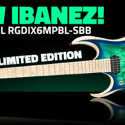 Ibanez RGDIX6MPBL-SBB Left Handed Iron Label RGD