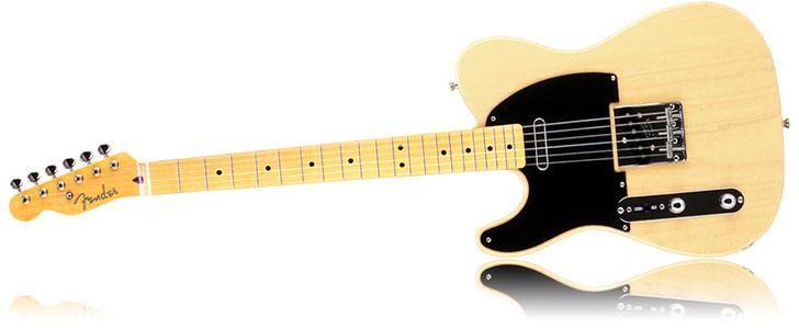 Left Handed Fender Classic 50s Telecaster