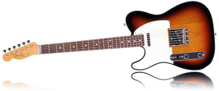 Left Handed Fender FSR Classic 60s Telecaster