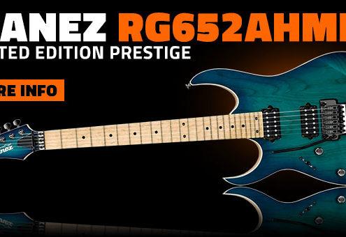 Ibanez RG652AHML-NGB Prestige Left Handed Guitar