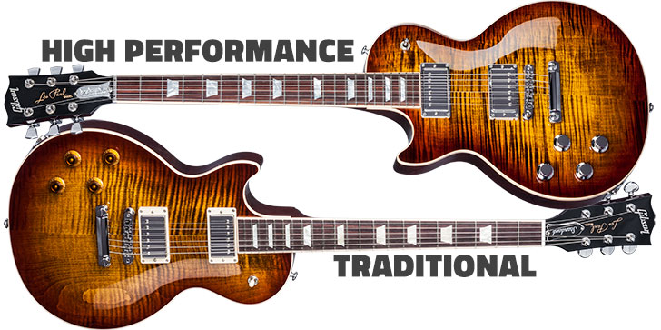 Gibson High Performance vs Traditional Les Paul